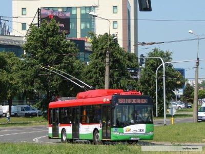 Les 15 premiers Trollino en service à Lublin (Pologne)