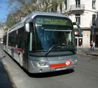 Projet ATOUBUS sur le réseau de Lyon