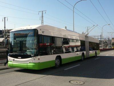 Du Swisstrolley 3 pour Limoges