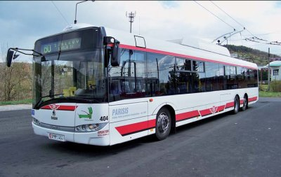 26 trolleybus pour  Usti nad Labem (Tchèquie)