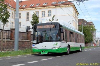 Les premiers Trollino 12 livrés à Cagliari (Italie)