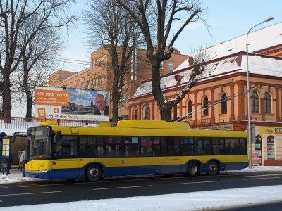 3 Skoda 28Tr Solaris pour Teplice (Tchéquie)