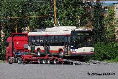 Les 10 derniers en cours de livraison à Jihlava (Tchéquie)