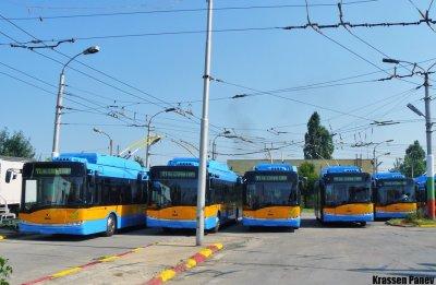 Appelle d'offres pour 50 trolleybus à Sofia (Bulgarie)
