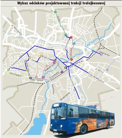 Projet d'extension du réseau à Lublin (Pologne)
