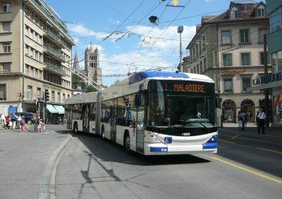 Futur commande de 27 trolleybus pour Lausanne (Suisse)