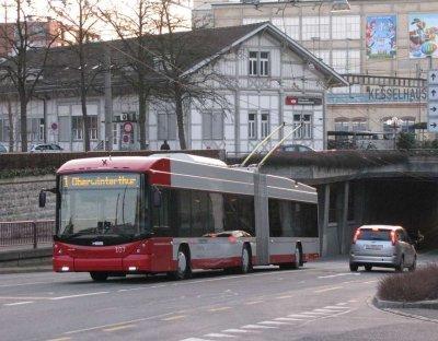 2 Swisstrolley 3 supplémentaires pour Winterthur (Suisse)