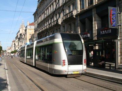 Le TVR jusqu'en 2022 à Nancy