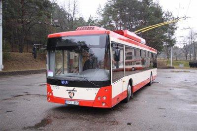 Nouveaux trolleybus pour Vilnius (Lituanie)