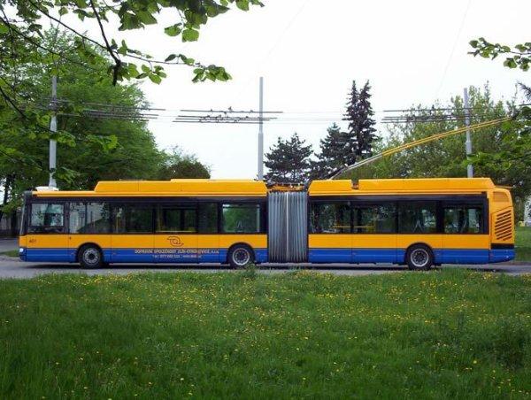 Futur commande de trolleybus pour Zlin (Tchéquie)