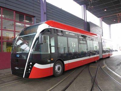 Commande 33 trolleybus articulés Genève (Suisse)