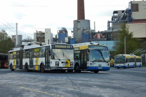 Trolleybus 11 de Gand à Solingen (Allemagne)