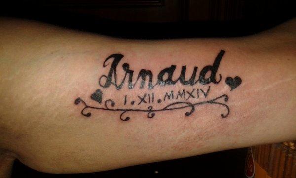 Tattoo Aurelie