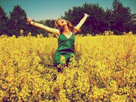 Je veux m'endormir dans un champs rempli de coquelicots* !