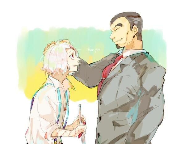 Juzou et shinohara ...une équipe rompu...