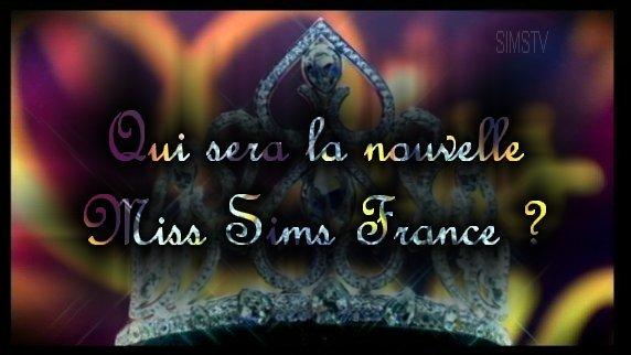 Bienvenue sur le Blog pour le concours de Miss Sims France 2012 .
