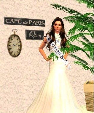 4EME DAUPHINDE De Miss Sims France 2012          Miss Roussilon