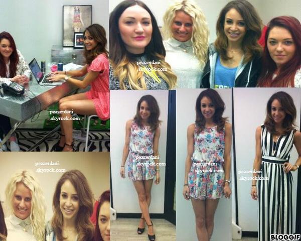 """le 29 mai 2013 : Danielle a rendu visite dans les bureaux de """"LOVE"""", Londres"""