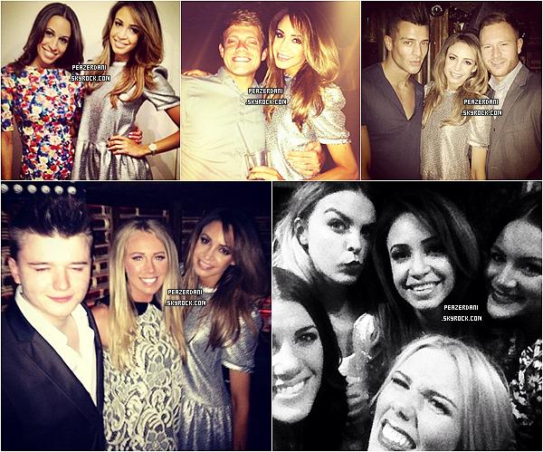 """le 10 juin 2013 : Danielle fêtant son anniversaire au """"Mayfair Hotel"""" et au """"Mahiki Club', Londres"""