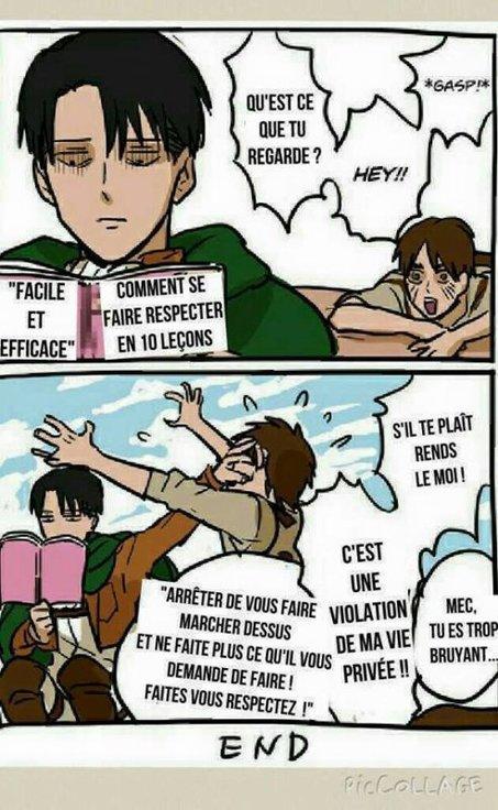 Il n'y as plus de respect !
