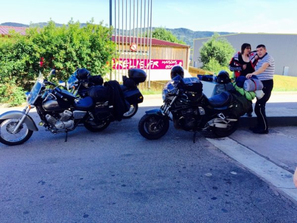 Concentre des Looneys Toons Riders à Calmoutier 2015