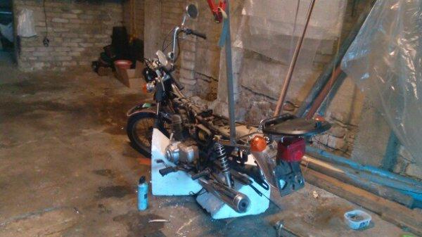 La moto de Pascale 2015