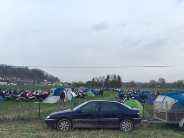 Concentre des Tauros à Dun sur Meuse 2-3 avril 2016