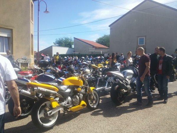 Bénédiction des motards à Malancourt la Montagne 11/06/2017