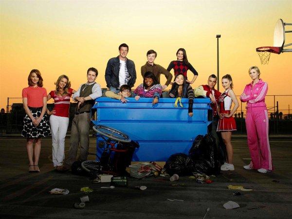 Glee nouvelle série qui cartonne !