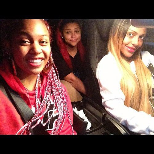 Bahja with her mom & sister