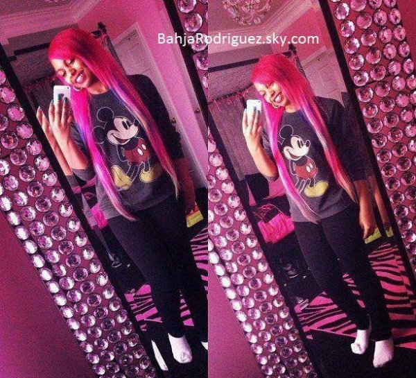 Bahja's new hair