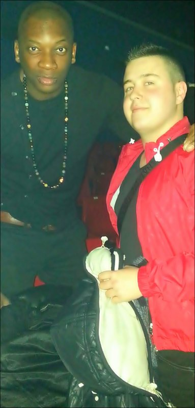 Singuilla & moi au concert de Trey Songz