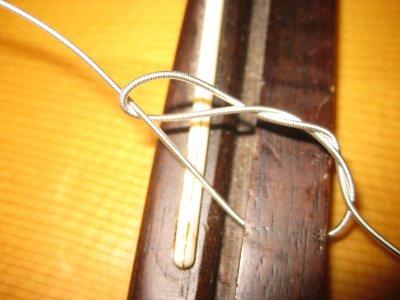 changer des cordes nylon 2éme partie