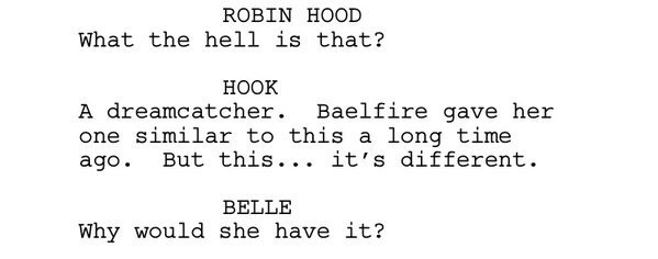Robin, Hook and Belle