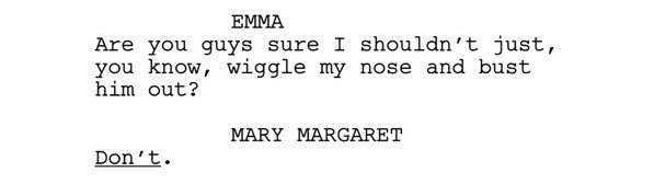 Emma and Mary Margaret