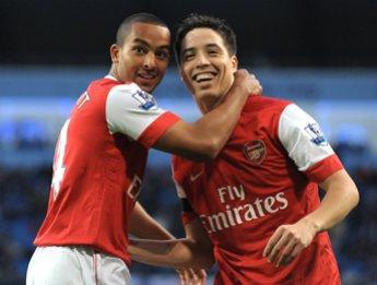 Voici un joueur d'Arsenal en pleine forme.