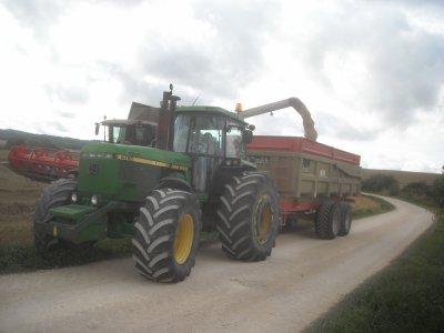 Chantier de blé à Dagonville suite et fin.
