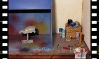 En préambule : un de mes dioramas, sinon mon diorama préféré : L'ATELIER