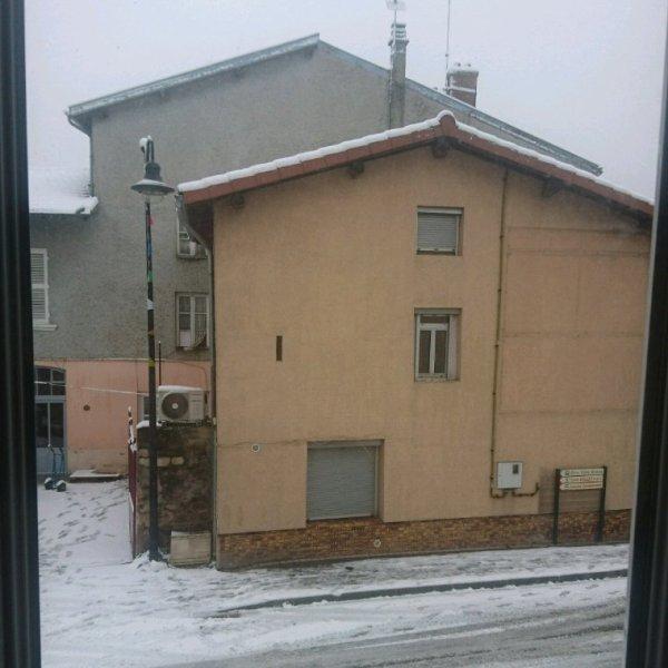 Enfin de la neige ♥