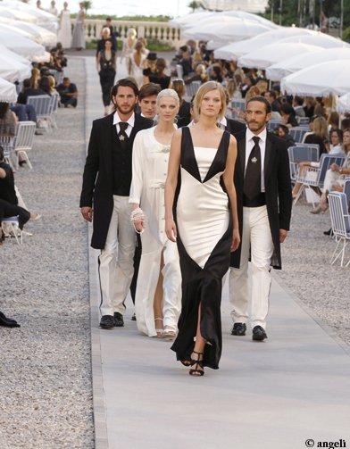 Petit aperçu du défilé Chanel Croisière 2011-2012