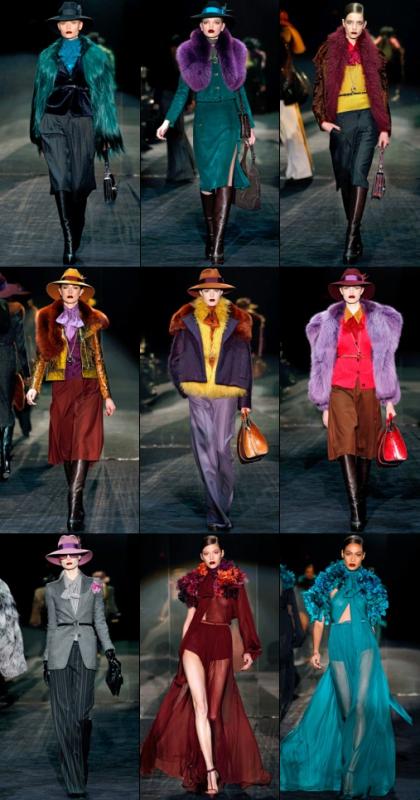 Petit aperçu du défilé Gucci Automne/hiver 2011 2012