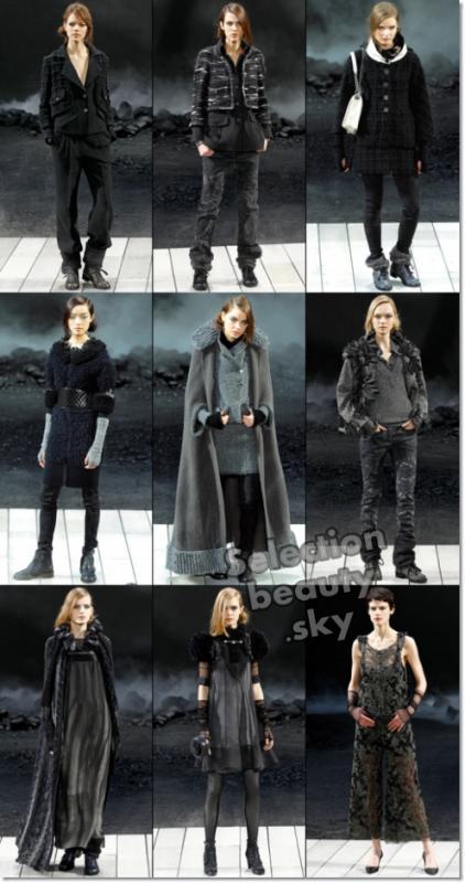 Petit aperçu du défilé Chanel Automne/hiver 2011/2012