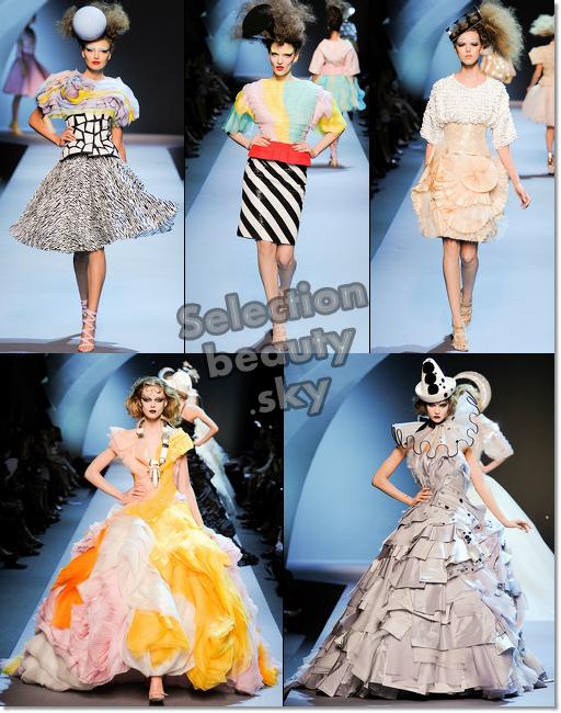 Petit aperçu du défilé Dior Haute Couture Automne/hiver 2011/2012