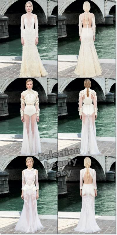 Petit aperçu du défilé Givenchy Haute Couture Automne/hiver 2011/2012