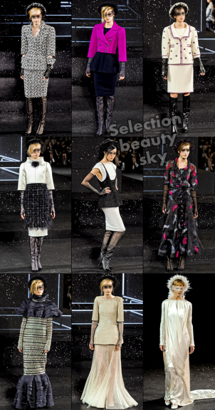 Petit aperçu du défilé Chanel Haute Couture Automne/hiver 2011/2012