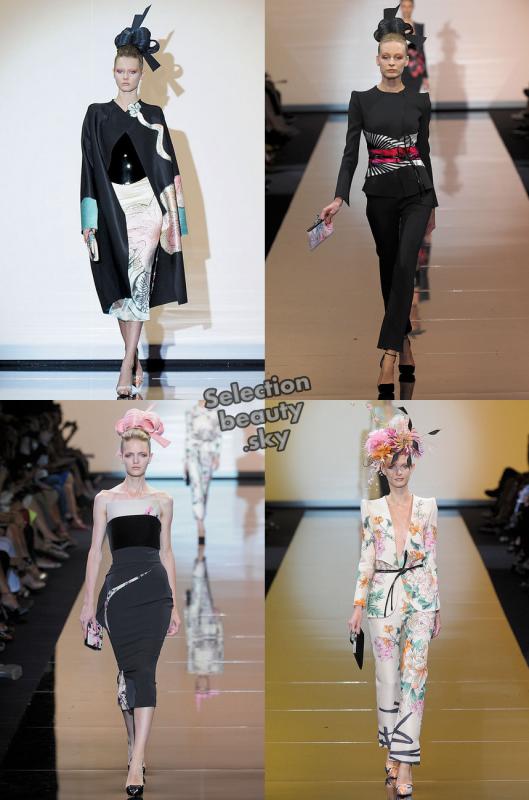 Petit aperçu du défilé Armani Privé Haute Couture Automne/Hiver 2011/2012