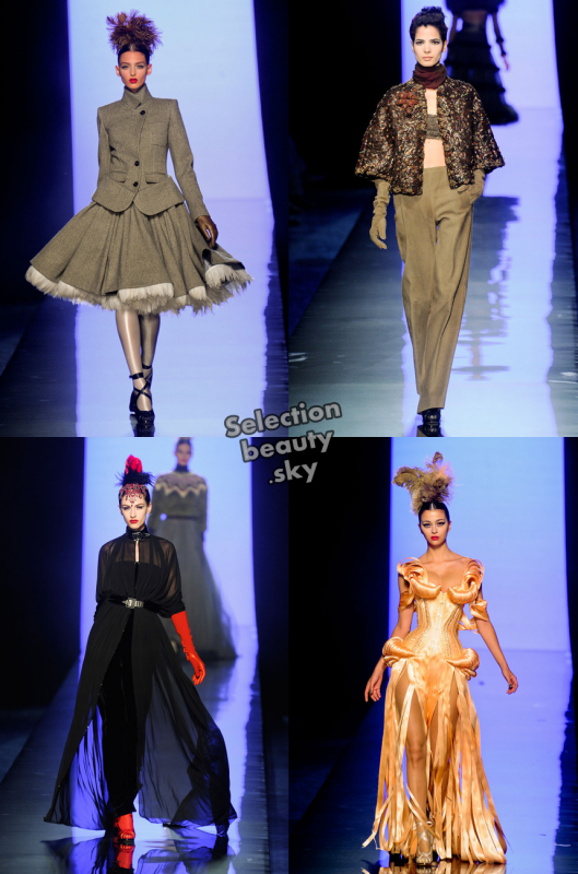 Petit aperçu du défilé Haute Couture Jean Paul Gaultier Automne/Hiver 2011/2012