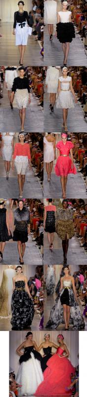 Petit aperçu du défilé Giambattista Valli Haute Couture Automne/Hiver 2011/2012