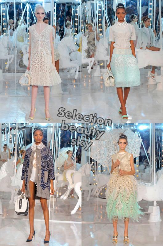 Petit aperçu du défilé Louis Vuitton Printemps 2012