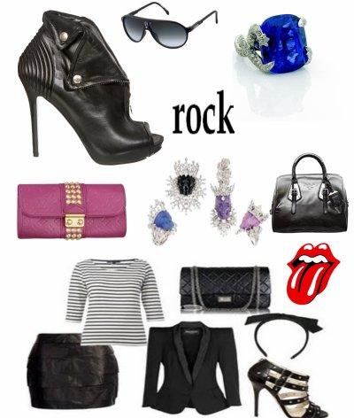 rock tout simplement mais chic